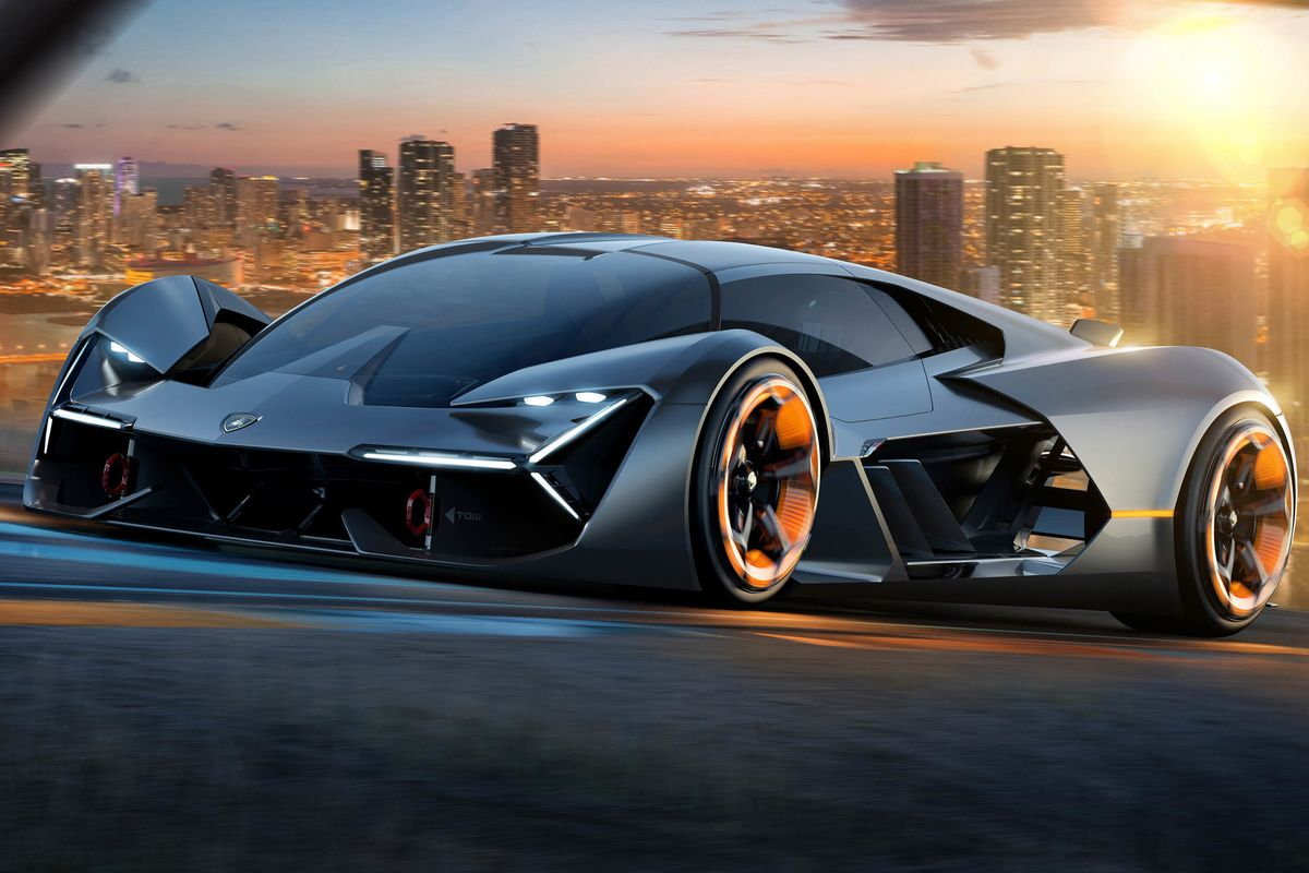 Lamborghini Unveils a Self-Healing, Electric Supercar