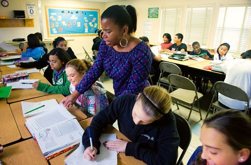 Obama Frees 8 States From 'No Child' Education-Testing Rules