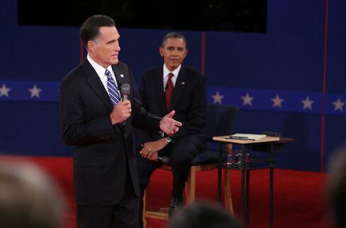 Obama Says Romney Words Aren't 'True' as Second Debate Kicks Off