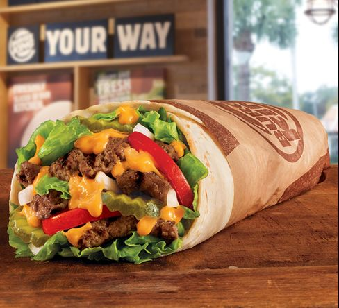 Burger King's newest creation: The Whopperito