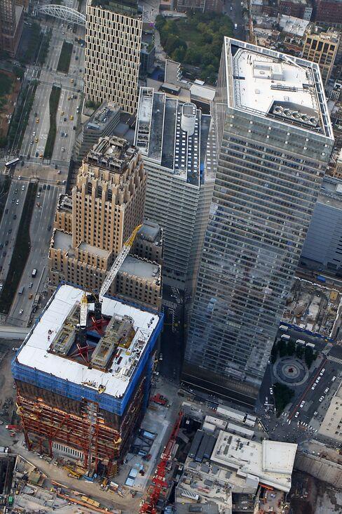 World Trade Center Bonds Yield More Than Wal-Mart