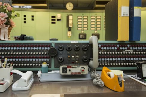 Antiquated operating controls