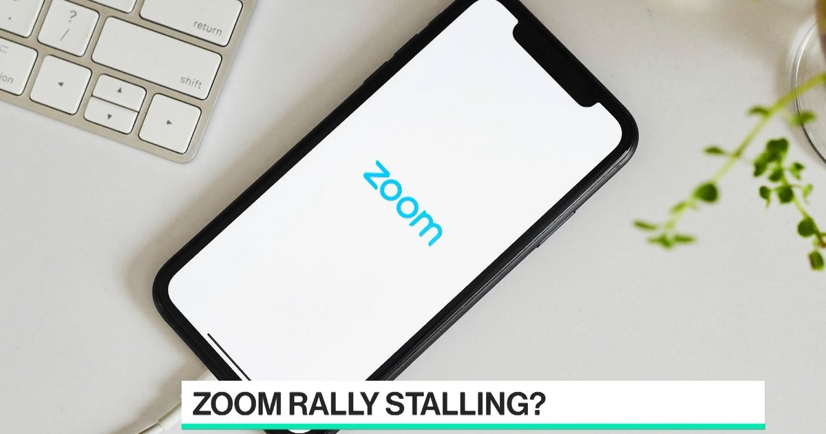 Is Zoom's Rally Stalling?