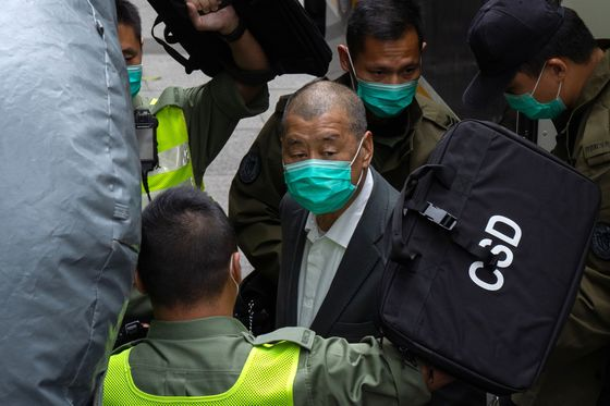 Hong Kong to Freeze Jimmy Lai's Assets, Citing Security Law