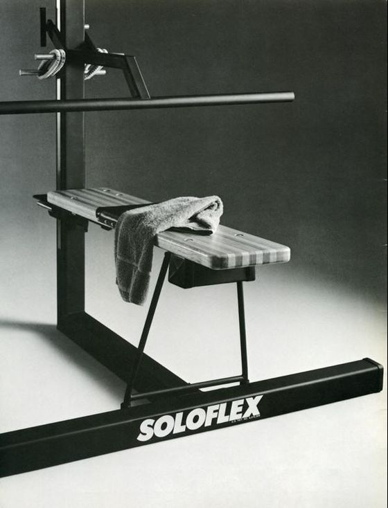 Under Quarantine, Vintage Soloflexes Are Getting a Workout