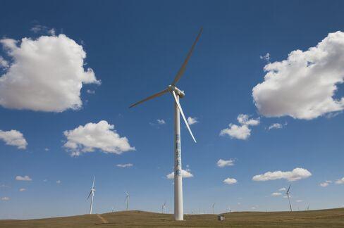 Sinovel Wind Turbines Inner Mongolia China