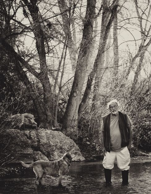 Author Jim Harrison in 2012.