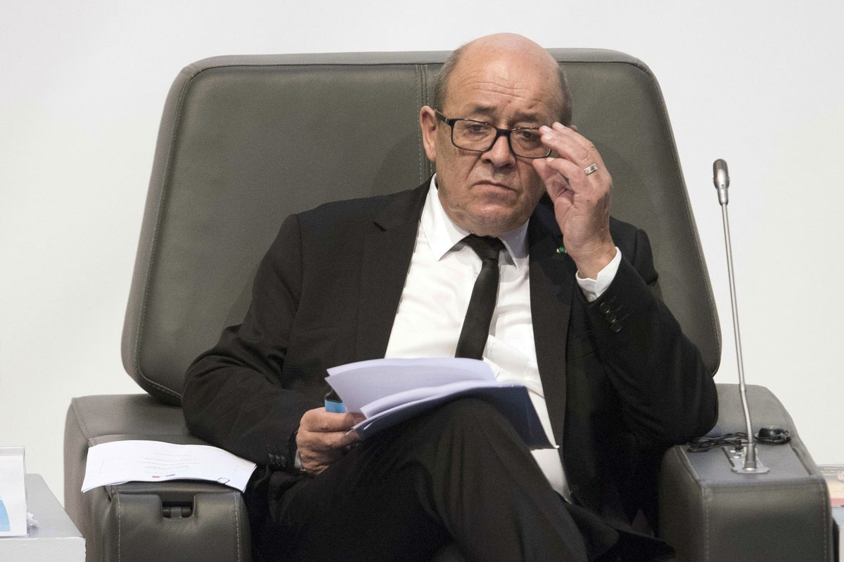 France's Le Drian Says Talks to Ease Gulf Tension Still Possible
