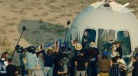 relates to Mission Accomplished: Bezos and Crew Emerge From Blue Origin Capsule