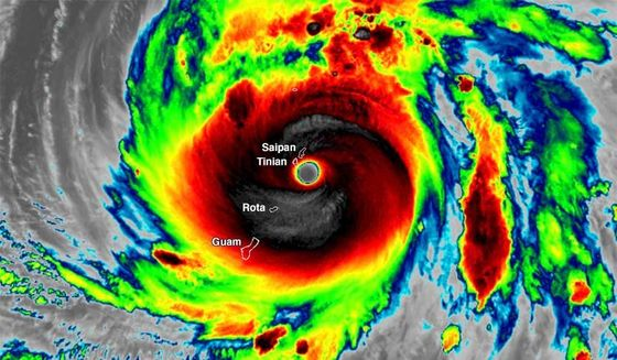 Super Typhoon Yutu Is Strongest Storm to Hit Saipan in 68 Years