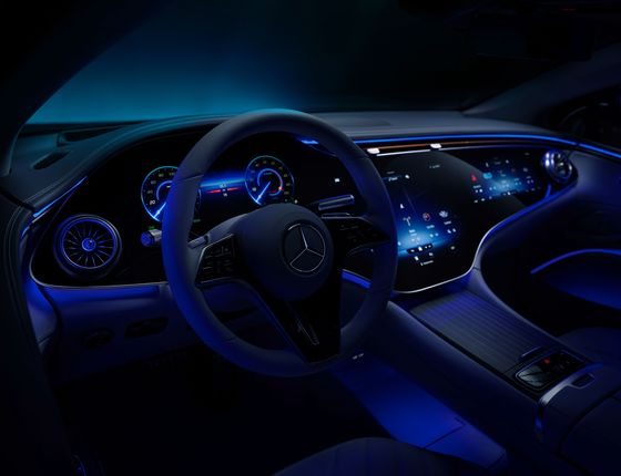 The Best Thing About the New Electric MercedesIs Not Under the Hood