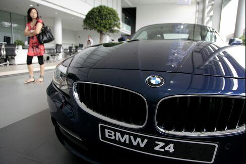 BMW Dealership in China