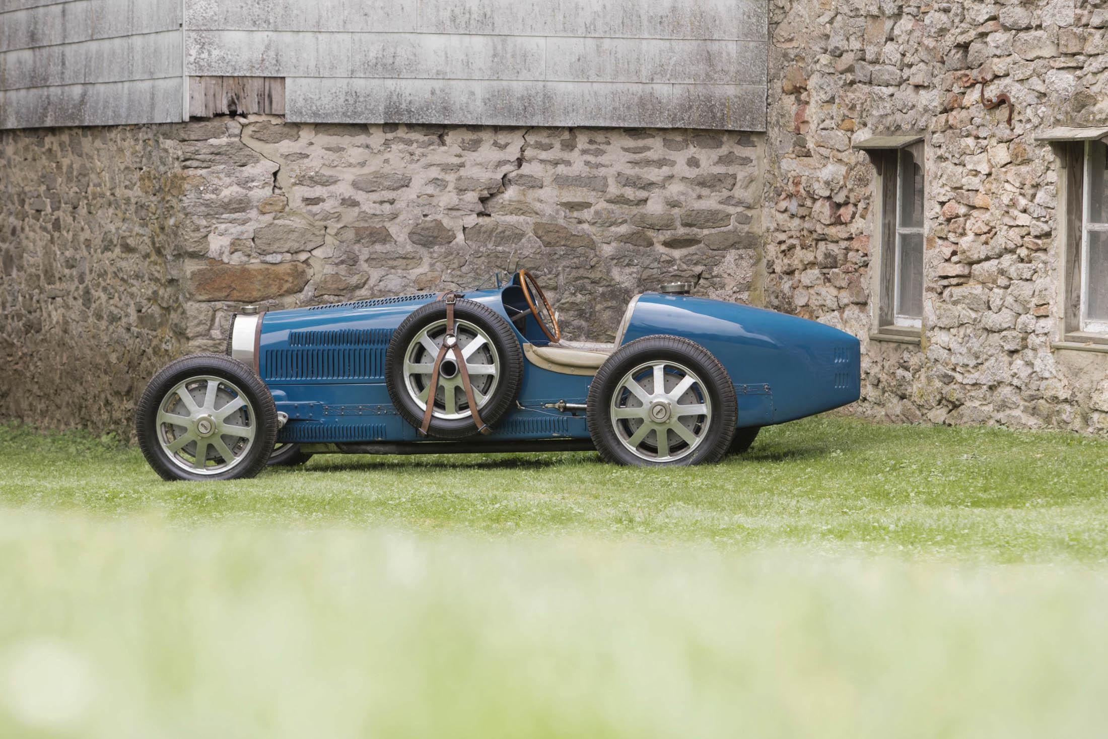 1931 Bugatti Type 51 Grand Prix Racing Two-Seater