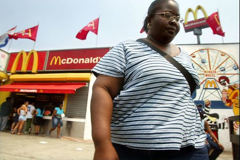 McDonald's Obesity Case Can't Proceed as Group Suit