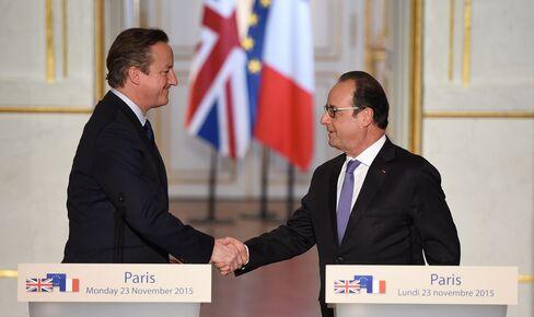 Cameron and Hollande meet today