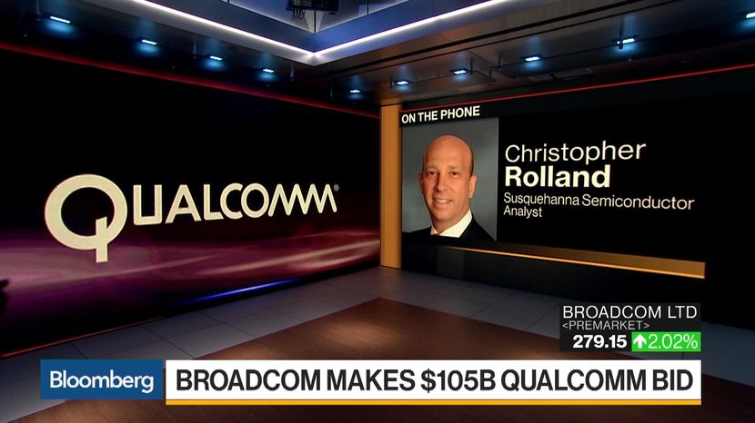 Broadcom Ready to Go Hostile for $105 Billion Qualcomm Deal