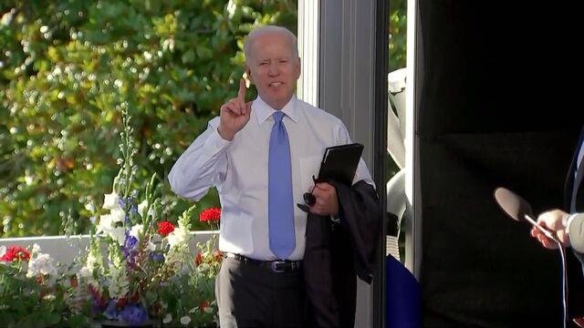 Biden Has Sharp Exchange With Reporter About Detainees