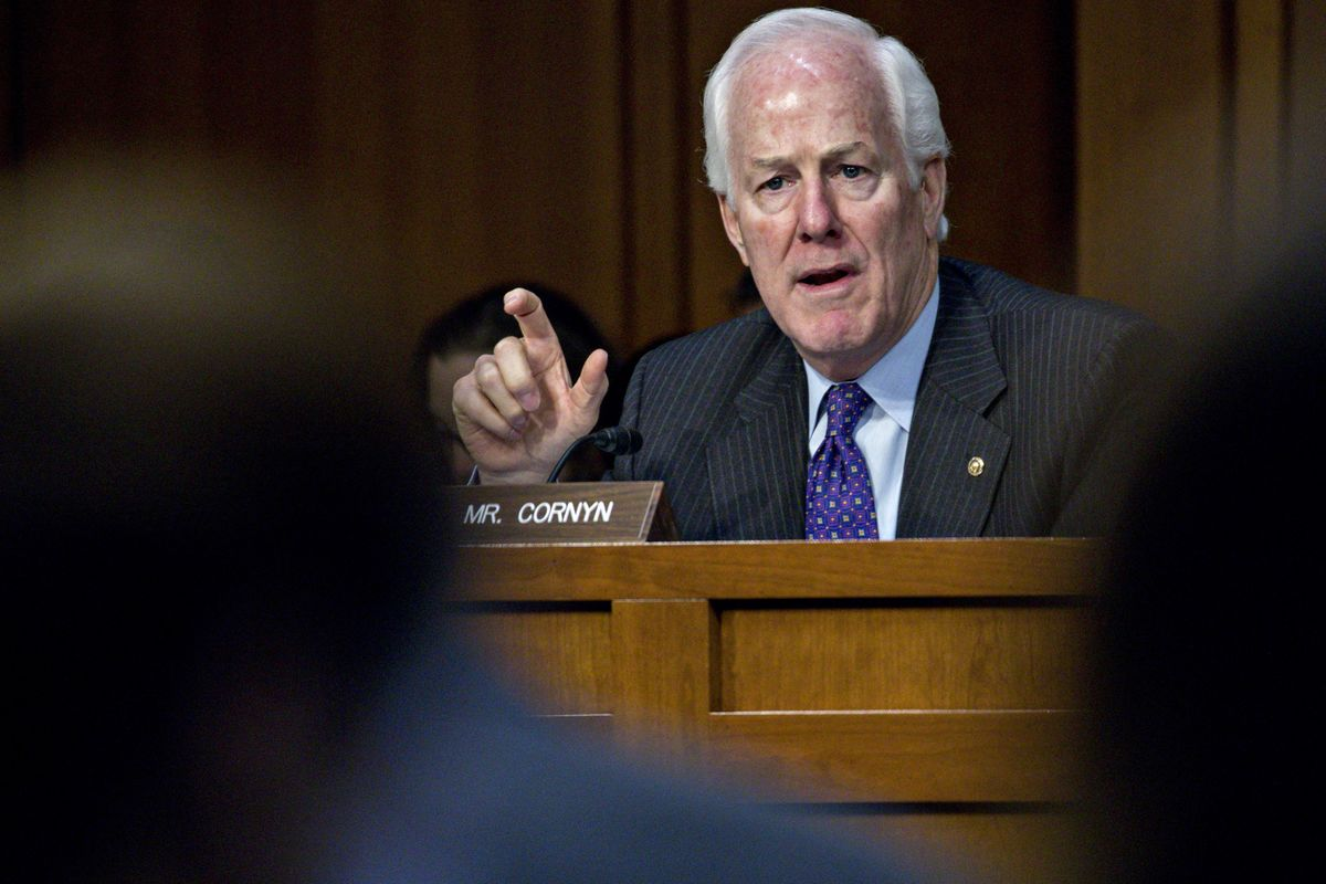 Cornyn Says Texas Shooting May Prompt Look at Background Checks