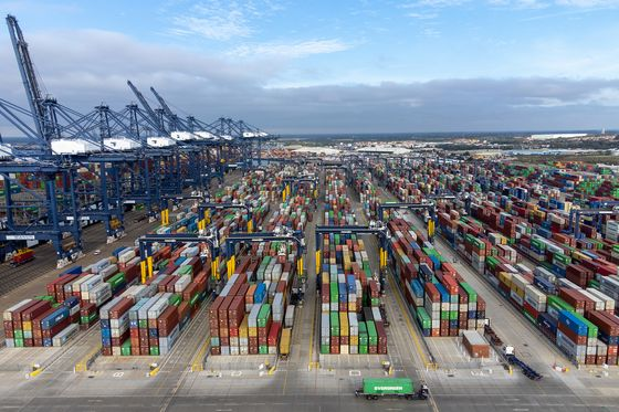 Christmas Toy Shortages Loom as Cargo Clogs Major U.K. Port