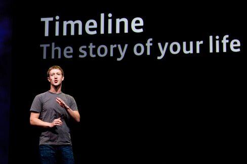 Facebook Inc. CEO Mark Zuckerberg