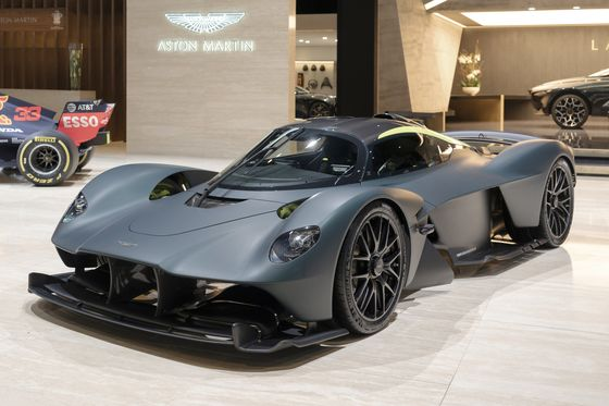 Aston Martin's $3.5 Million Supercar Embroiled in Swiss Spat