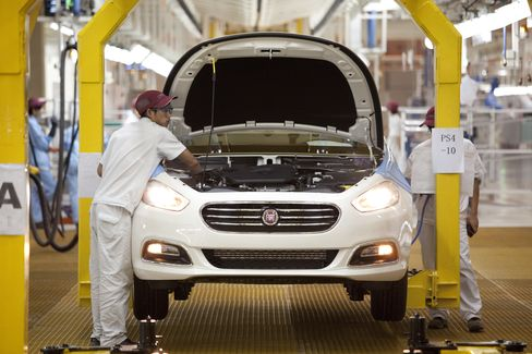 Fiat Loss Widens in Europe as Region's Debt Crisis Hits Demand