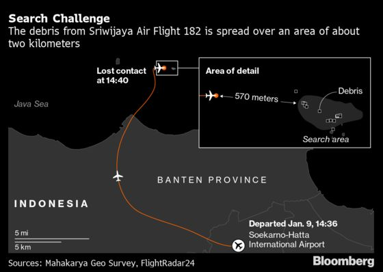 Sriwijaya Crash: Voice Recorder Found on Final Day of Search