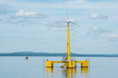 Floating Wind Farms Venture Farther Out to Sea