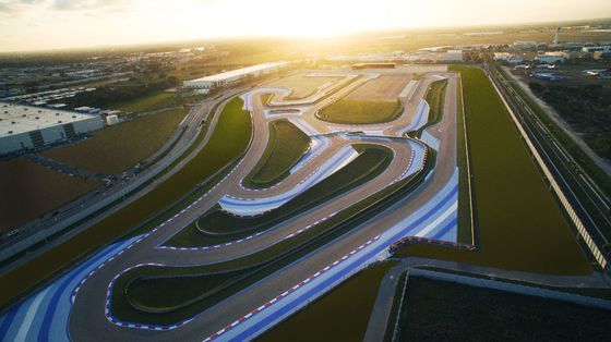 A Country Club for Race Cars Emerges Minutes From Miami Beach