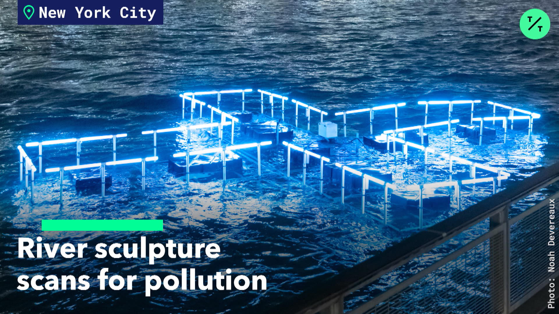 River Sculpture Scans For Pollution