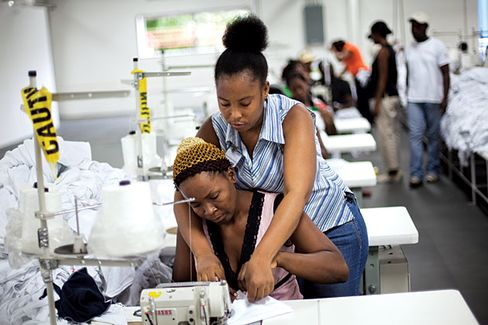 A Celeb-Backed Apparel Factory in Haiti Goes High-End