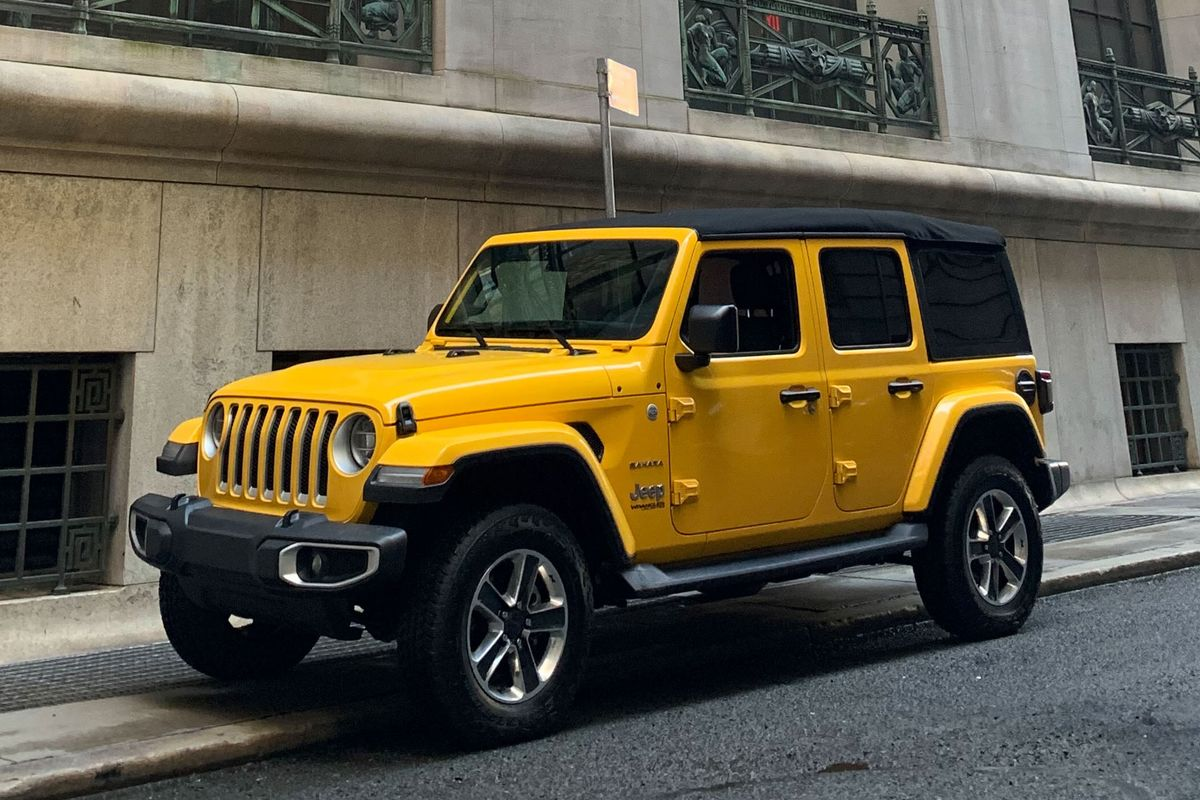 The Diesel Jeep Wrangler Unlimited Takes Off-Road Glory to the City