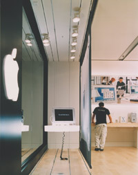 Apple Computer Retail Stores Eight Inc., Gensler, Casappo & Assoc., Japan, Bohlin Cywinski Jackson, Yagi Design, ISP Design, Apple Computer, Inc. and Fisher Development