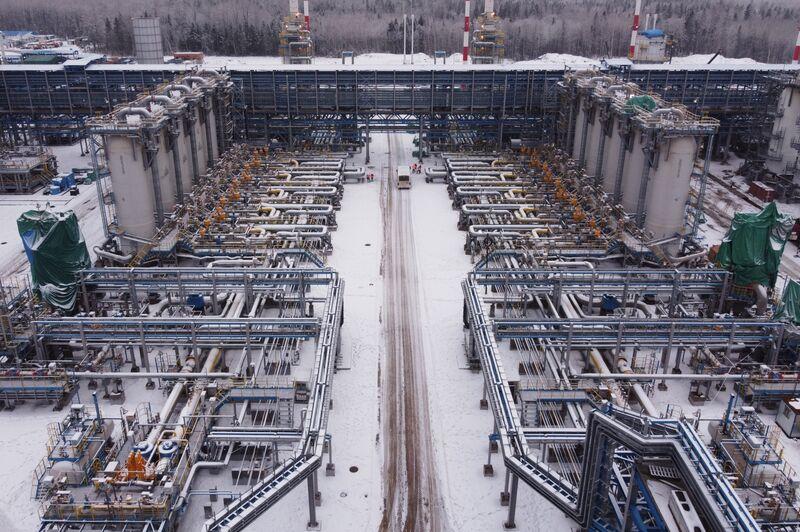 Gazprom PJSC's Nord Stream 2 Slavyanskaya Compressor Station