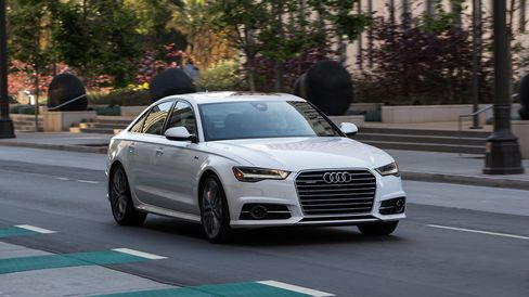The A6 TDI gets 25 mpg in the city and 38 mpg on the highway.