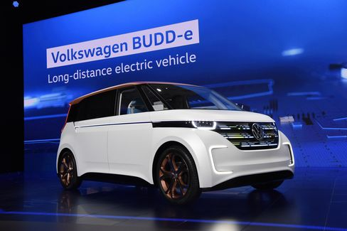 The Volkswagen AG BUDD-e vehicle