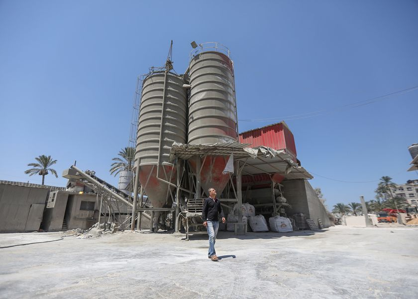 relates to Gaza Needs Cement to Rebuild, But Israel Dominates the Market