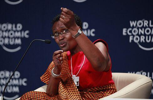 Oxfam Executive Director Winni Byanyima