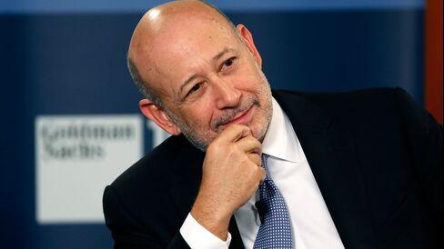 Lloyd Blankfein, chief executive officer of Goldman Sachs Group.