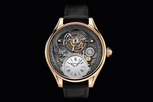 The Montblanc Collection Villeret Tourbillon Bi-Cylindrique 110 Years Anniversary Limited Edition.