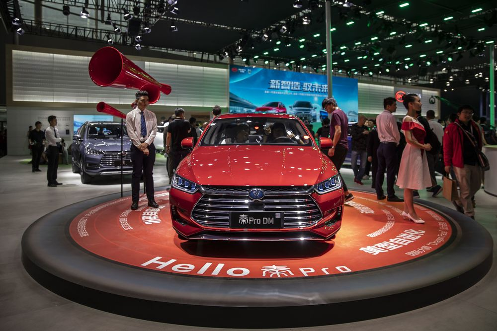 Toyota Teams Up With BYD to Develop Electric Vehicles for