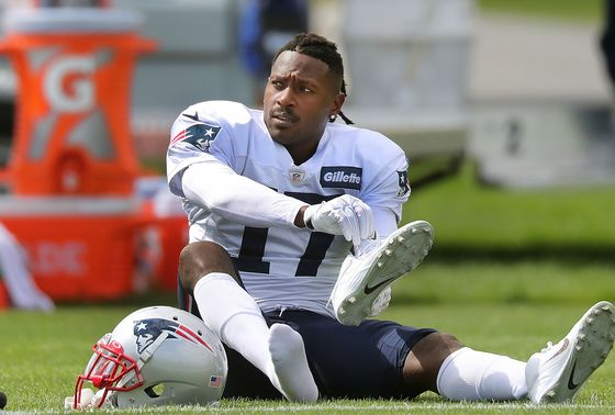 Antonio Brown Is Released by Patriots, Following Nike Decision