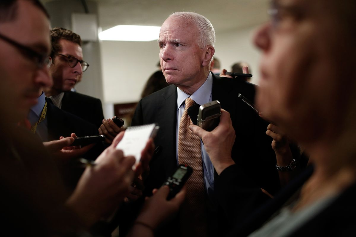 Budget Cuts to Blame for Soldiers' Deaths in Niger, McCain Says