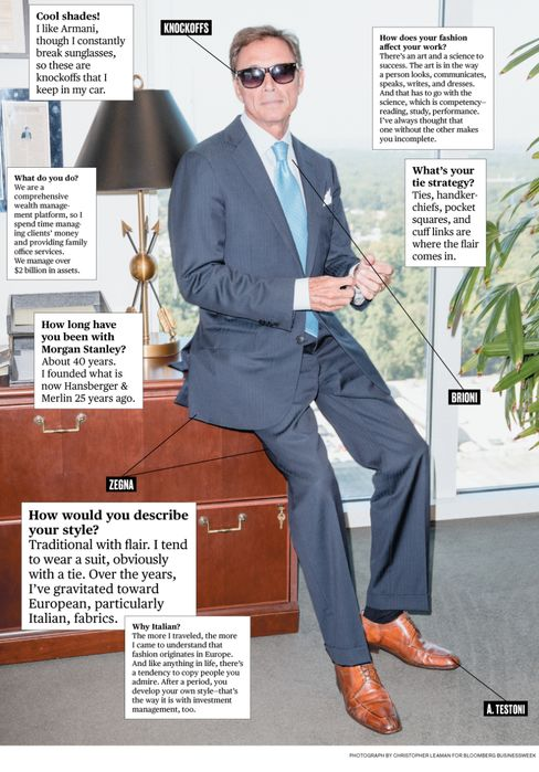 What I Wear to Work: Morgan Stanley's Jim ??Hansberger