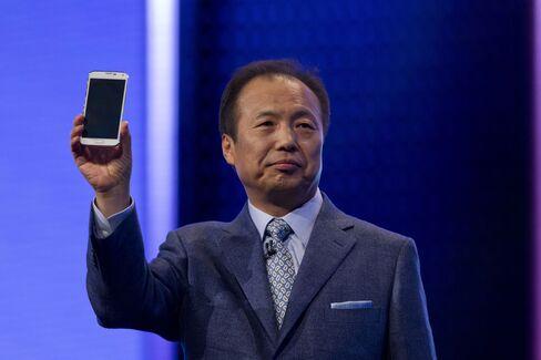 Samsung Co-Chief Executive Officer Shin Jong-Kyun