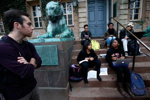 Princeton University Campus Protest
