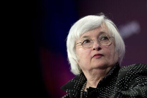 U.S. Fed Chair Janet Yellen