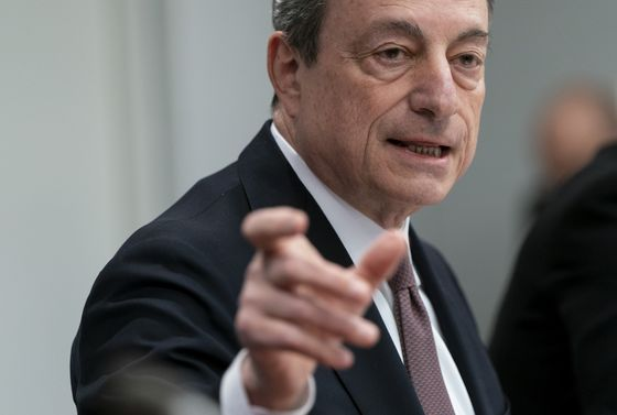 Draghi Says ECB Has Room to Do More, But Needs Fiscal Backup