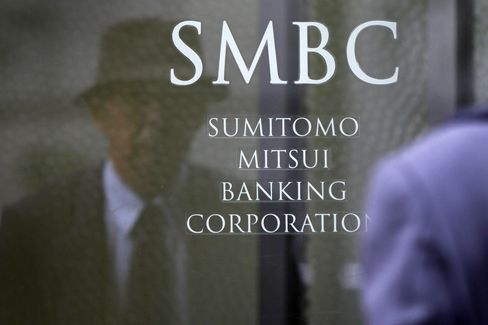 Sumitomo Mitsui Said to Fire Banker Amid Insider Trading Probe