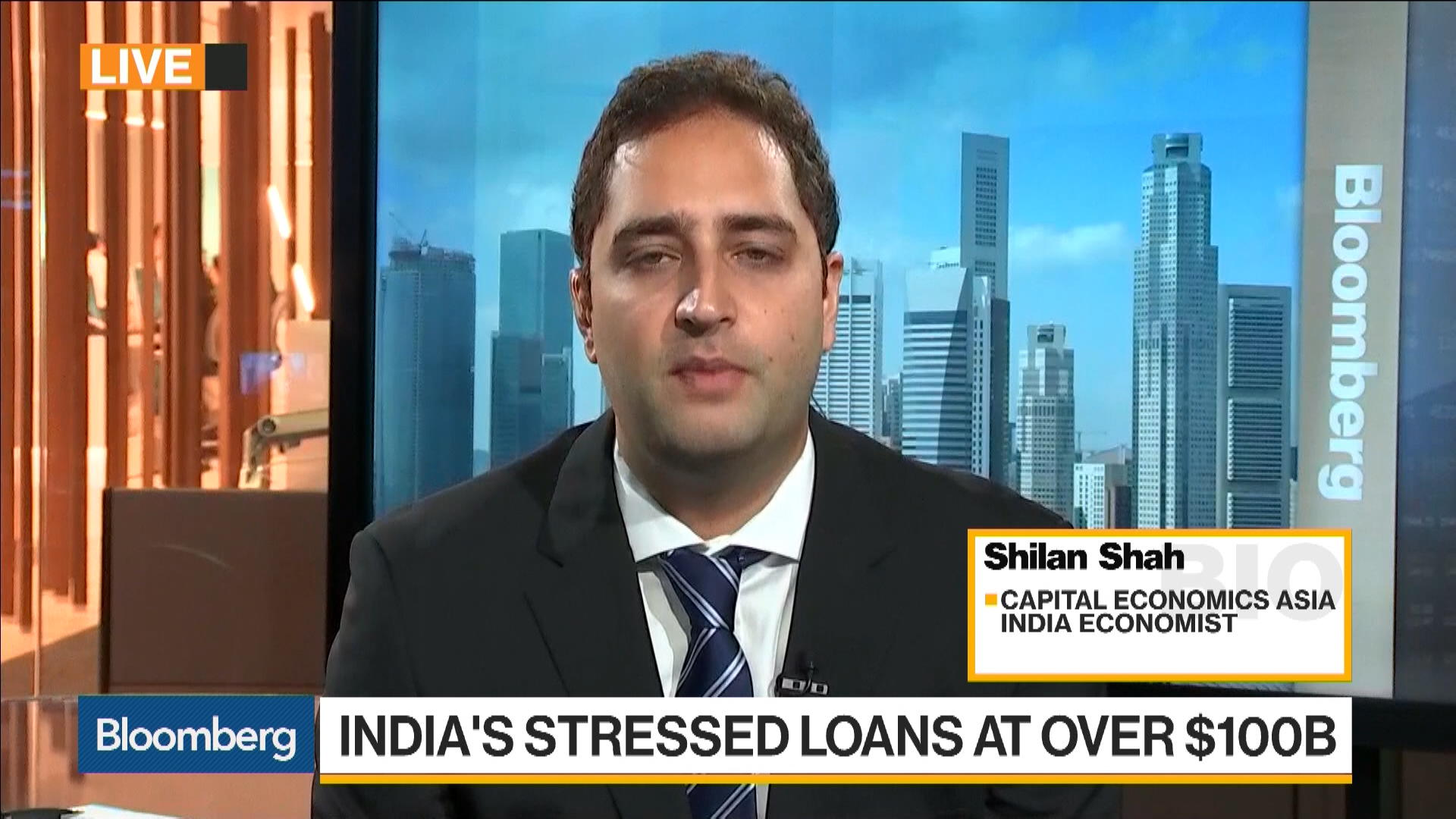 How to Tackle India's Bad Debt Problems – Bloomberg